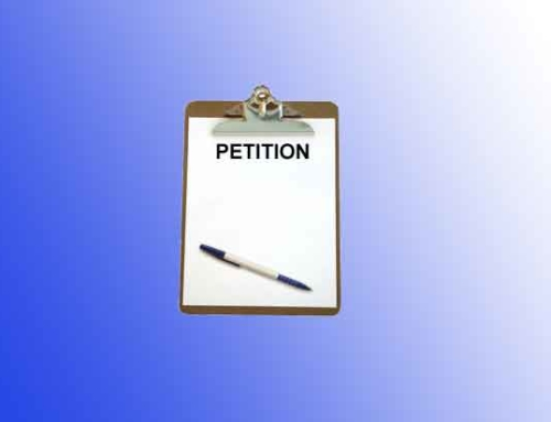 Petition : Modification of Sexuality Education Program