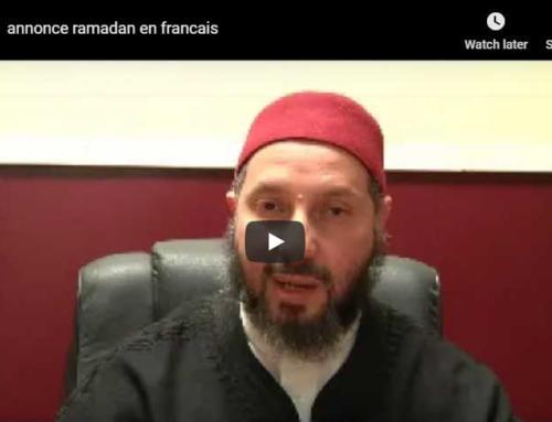 Message de l'Imam